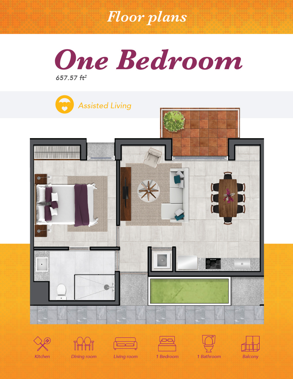 AL One Bedroom 01
