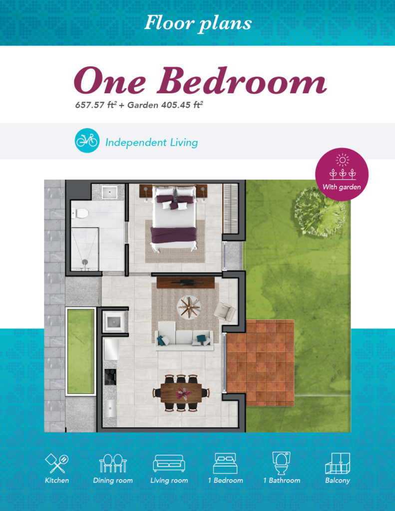 IL One Bedroom 03